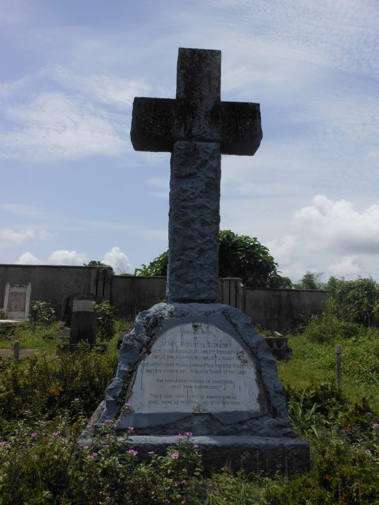 Mary Slessor's tomb
